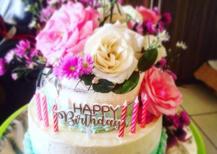 Sponge cake (based cake for bday cake) - cookandrecipe.com