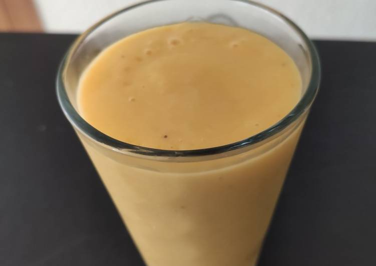 Easiest Way to Make Delicious Smoothie mangue banane
