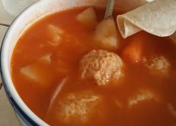 Easiest Way to Recipe Yummy Chicken  albondigas