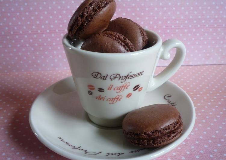 Cocoa Macaron for Valentines