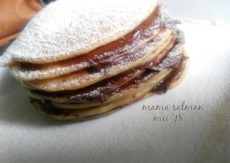Pancake Susu #SelasaBisa #bikinramadanberkesan