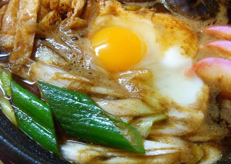 How to Make Super Quick Homemade A Nagoya Speciality: Miso-Stewed Udon Noodles