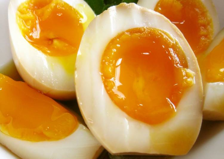 Easy Comfort Dinner Ideas Fall Easy Marinated Eggs, Great For Ramen