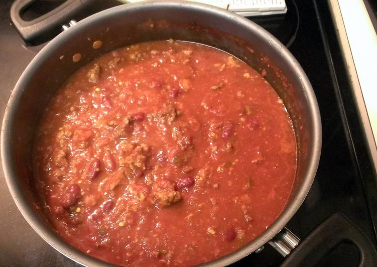 Beer & Italian Sausage Chili (Green's Meat Soup)