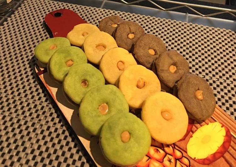 Cookies ekonomis/ tiga bahan dasar (Teflon)