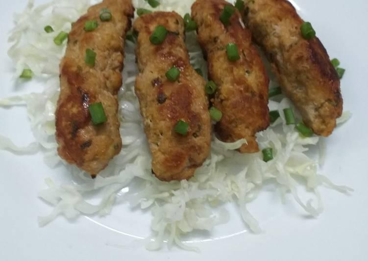 Chicken Garlic Kebab For Wraps