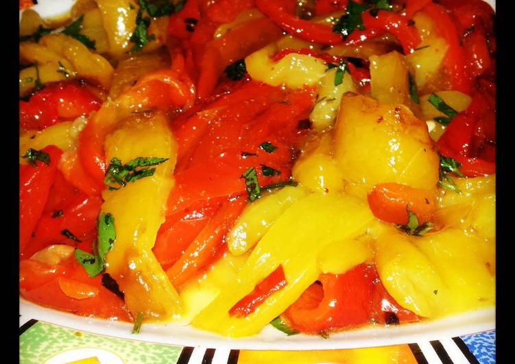 Easy Comfort Dinner Ideas Cooking AMIEs Grilled Peppers