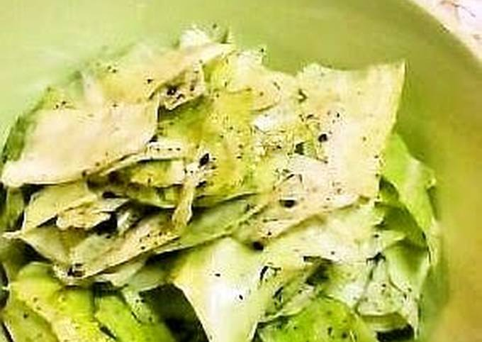Cabbage Only! Crunchy! Salted Cabbage