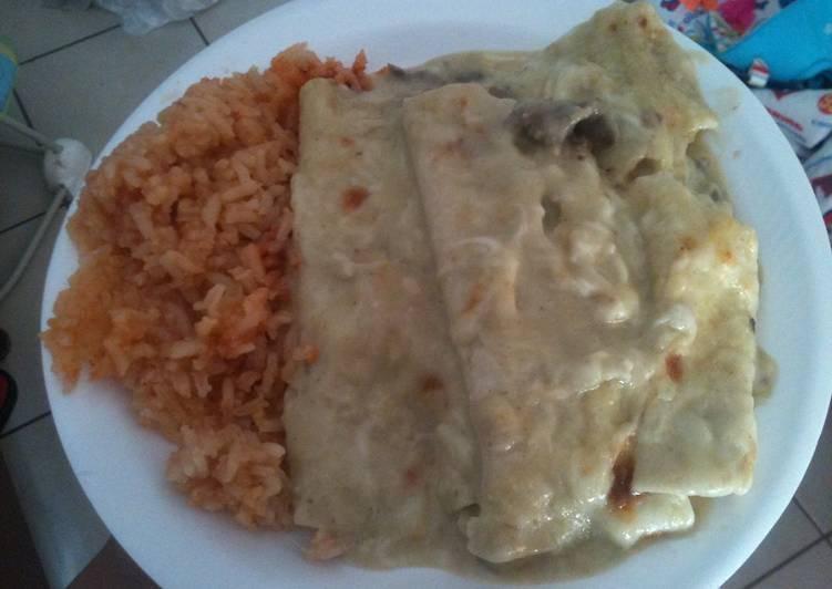 Best Green Enchiladas