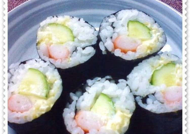 "Recipe of Super Quick Homemade Lazy ""Sushi"" Rolls for Lunchboxes"