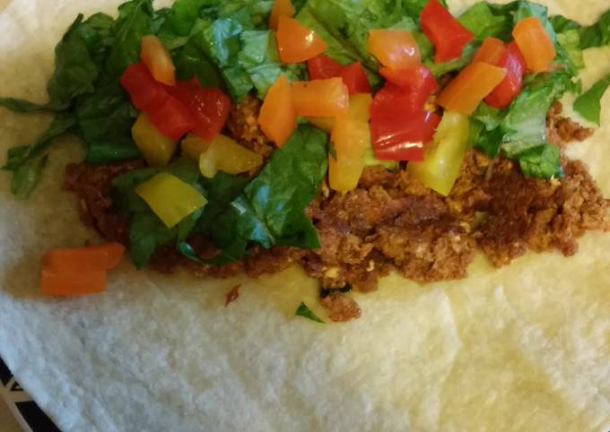 Chorizo Burritos