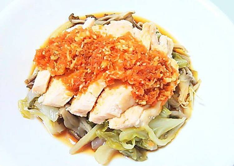 Fragrant Chicken with Salted Lemons and Tasty Ponzu