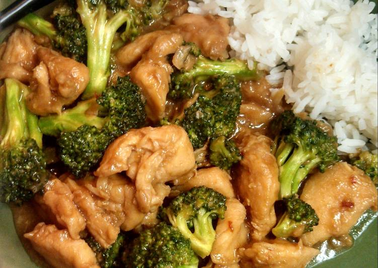 Grandmother's Dinner Easy Summer Easy Chicken with Broccoli