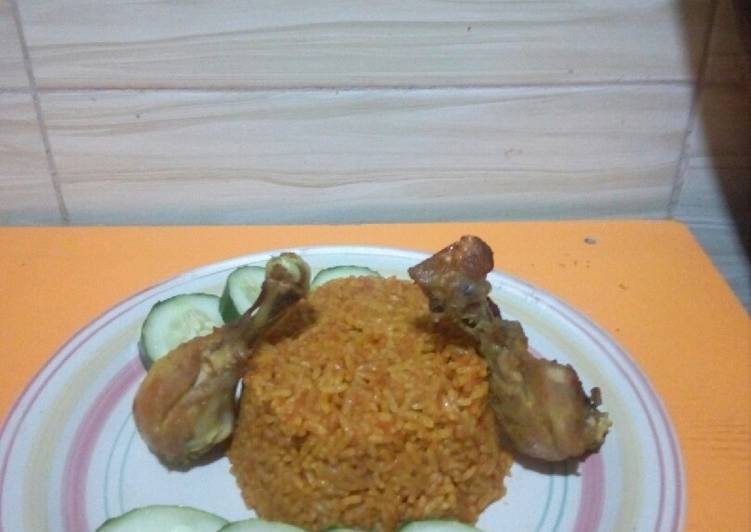 Spicy, tasty &Eye Popping Nigerian Jollof Rice For Any Occasion