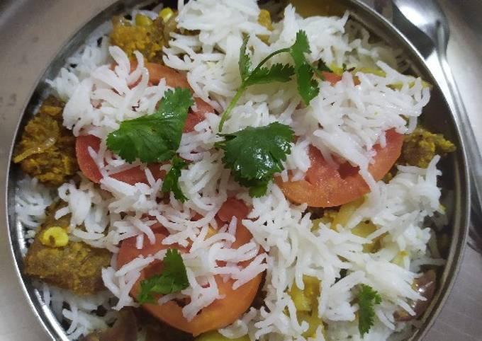 How to Cook Tasty Jodhpur kabuli (layered rice recipe)