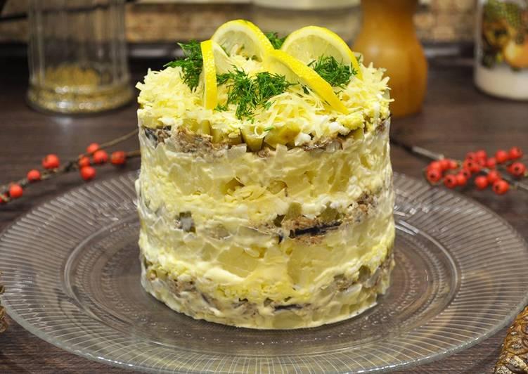 решил приготовить салаты из шпротов рецепты с фото этой подборки
