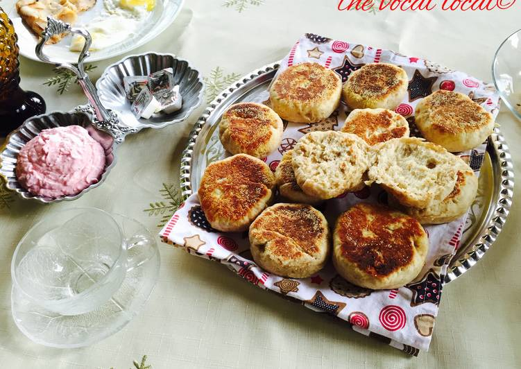 Recipe of Homemade Fast English Muffins