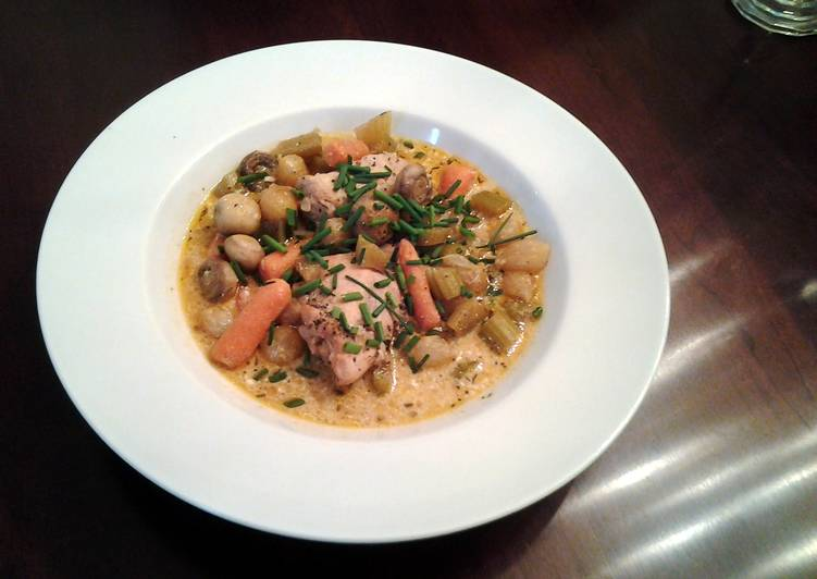 How to Prepare Tasty White Coq au Vin