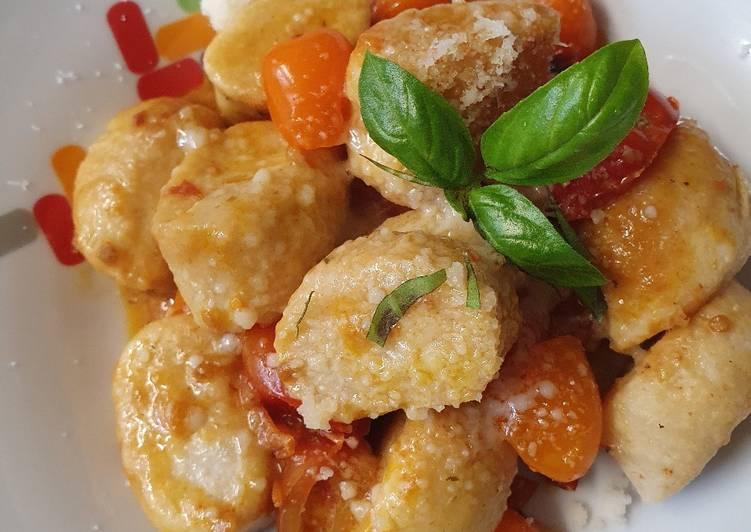 Steps to Prepare Ultimate Gnocchi, when you are nostalgic for Italian summer nights