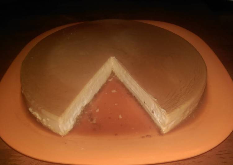 25 Minute Steps to Make Award Winning Cheese Flan