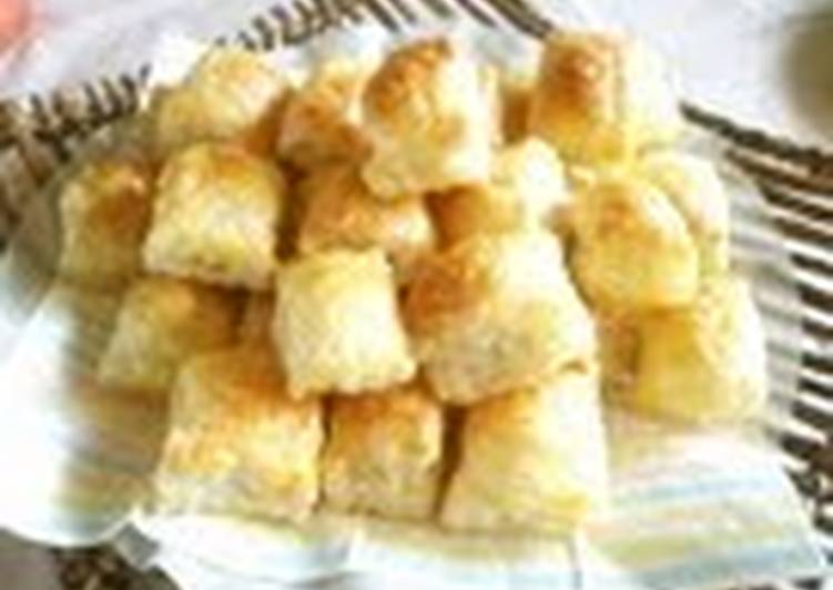 Recipe of Favorite Chocolate Pie Bites with Puff Pastry