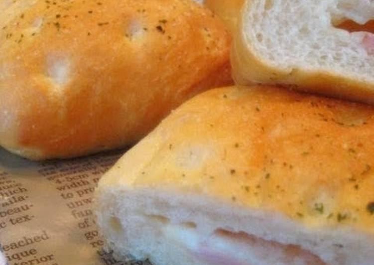 Easiest Way to Prepare Super Quick Homemade Focaccia Croque Monsieur Bread