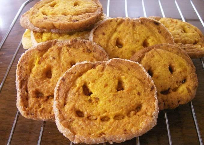 Crunchy Halloween Cookies (No Cookie Cutter Needed!)
