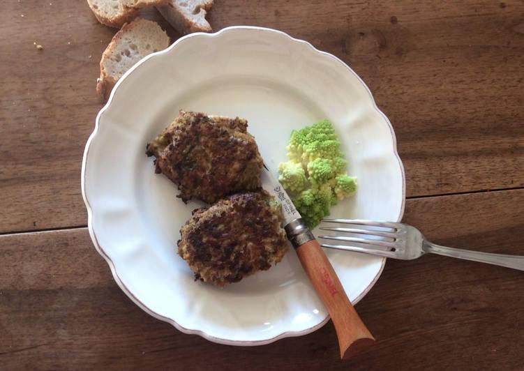 Comment Cuisiner Galette de Romanesco au Paprika