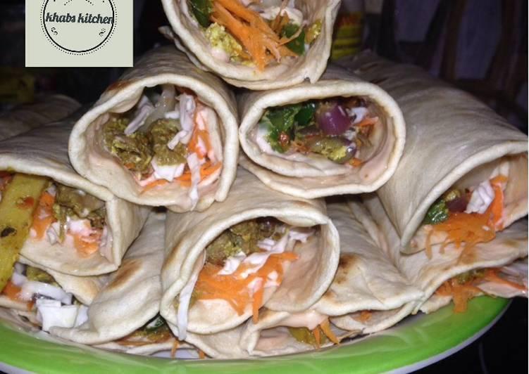Simple shawarma