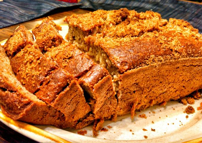Recipe: Perfect Whole wheat banana bread
