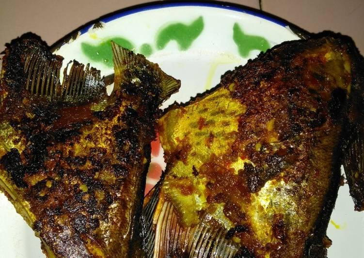 Ikan Bawal Bakar