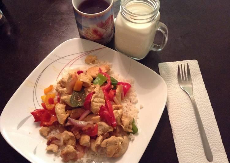 Wifeys Chicken Stir Fry