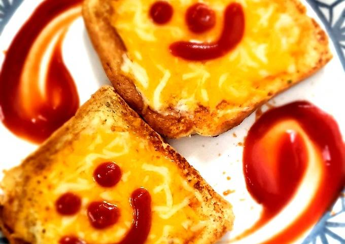 Chipotle garlic cheese bread❤