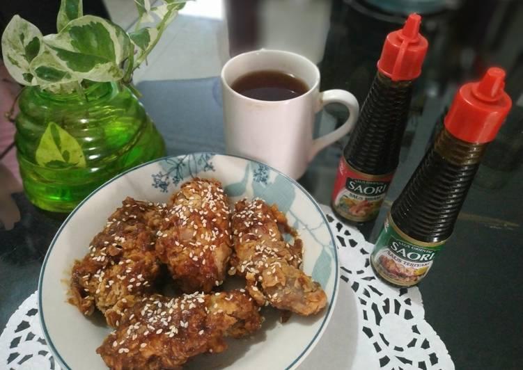 Fried Chicken Teriyaki