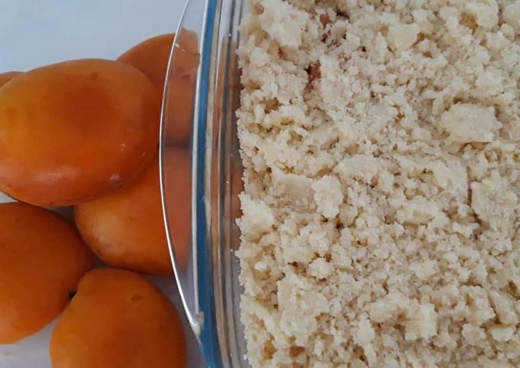 Recette De Crumble abricot