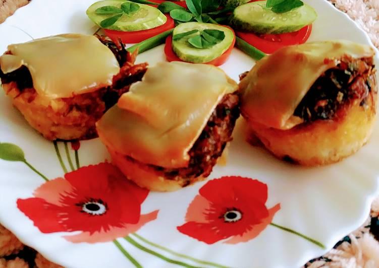Recipe: Tasty Meethi margarita muffins