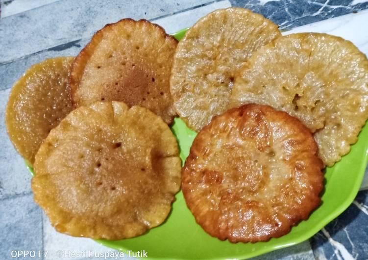 Kue Cucur (no mixer)
