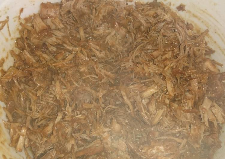 How to Prepare Yummy Quick BBQ Pulled Pork
