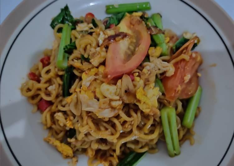 Resep Indomie goreng jowo 🌶️ Bikin Jadi Laper