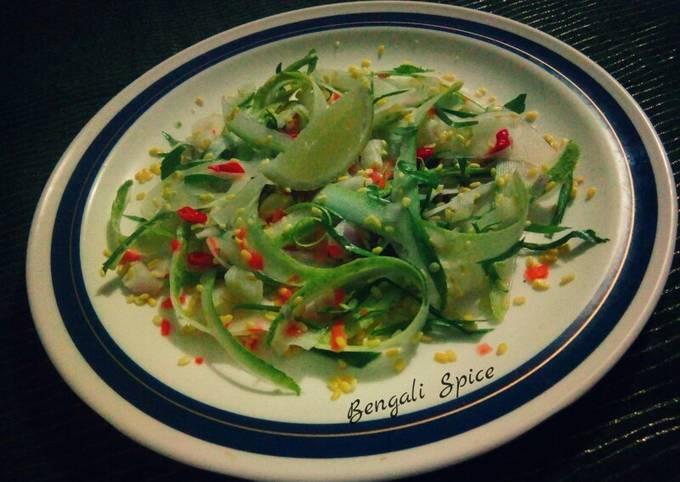 Kosambari (a South Indian traditional salad) ♥