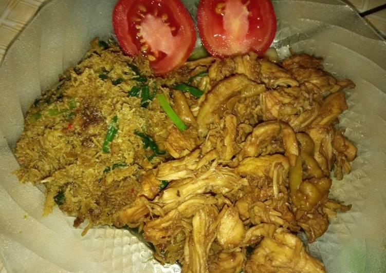 Ayam Gepuk Bumbu Rawon
