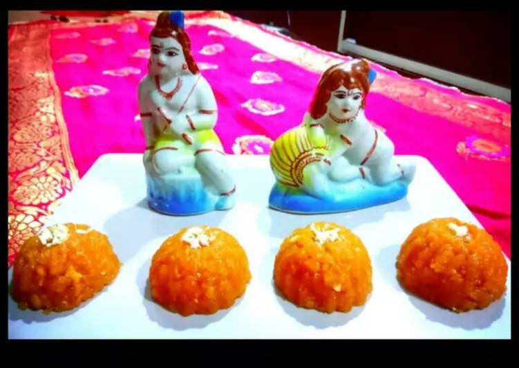How to Prepare Perfect Motichur Laddu