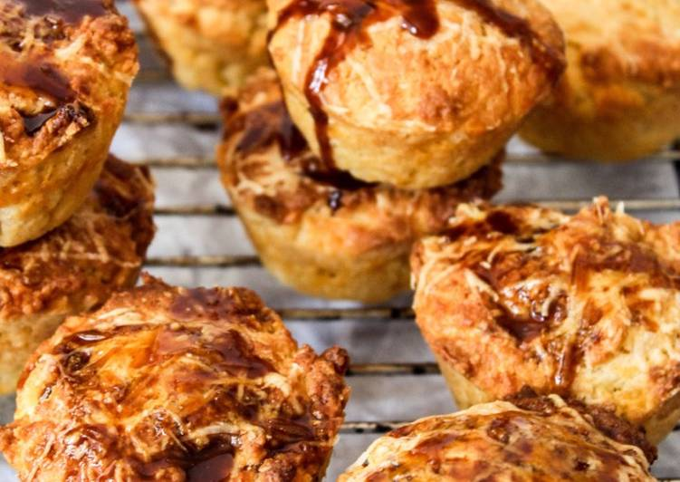 Your State Of Health Can Be Effected By The Foods You Decide To Eat Cheese muffins with a sweet marmite glaze