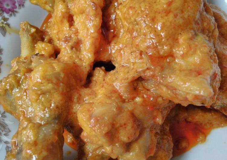 Ayam bumbu rendang sederhana