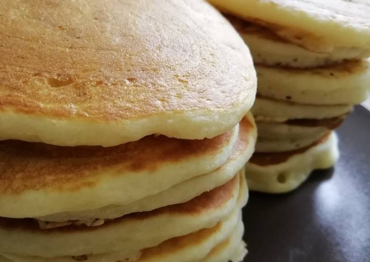 Comment faire Préparer Délicieuse Pancakes de Cyril Lignac
