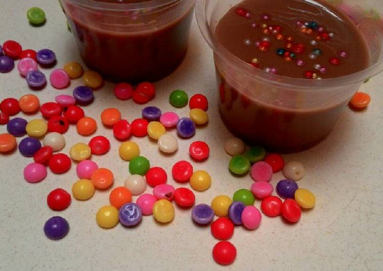 Puding Coklat Susu