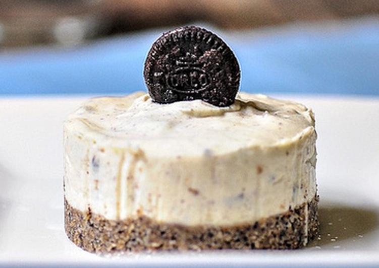 Eggless No-Bake Oreo Cheesecake