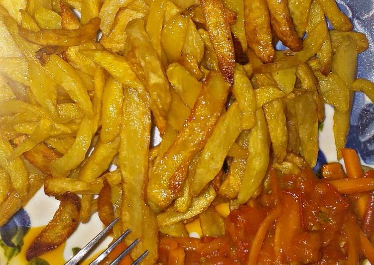 What are some Dinner Ideas Royal Chips and carrots sauce