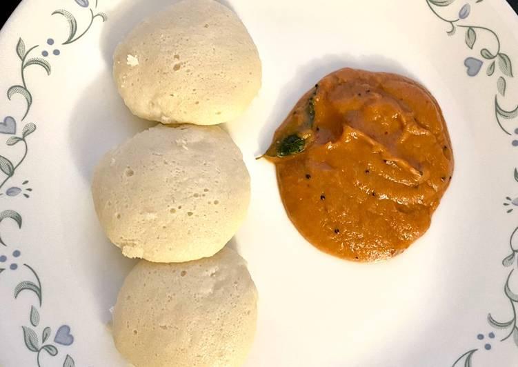 Poondu chutney (Garlic chutney)