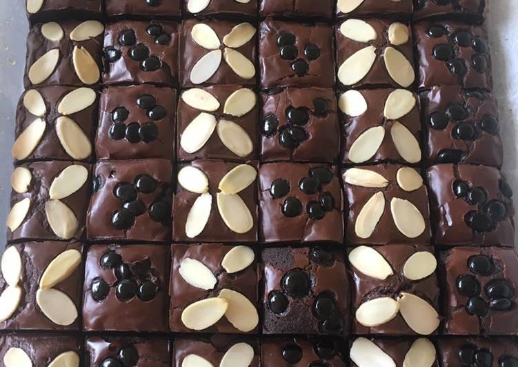 Fudgy Brownies Sekat